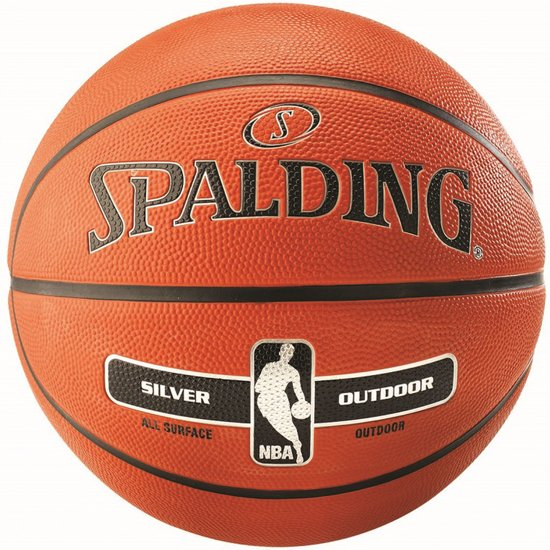 Spalding Basketbal NBA Silver - Maat 7 - Outdoor