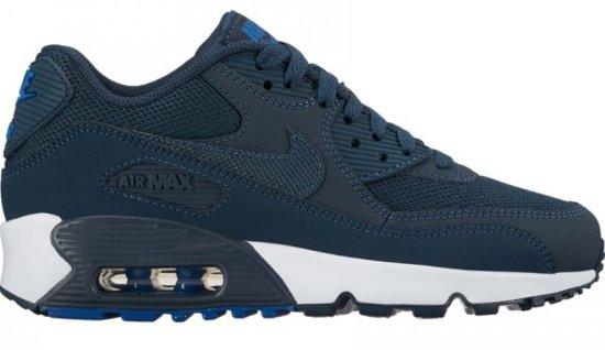 | Nike Air Max 90 Mesh 833418 407 Blauw Maat 38,5
