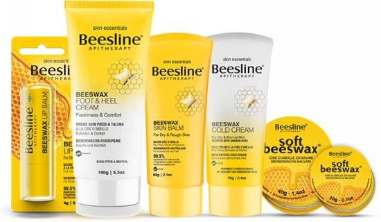 Beesline compleet verzorgingspakket op basis van bijenwas