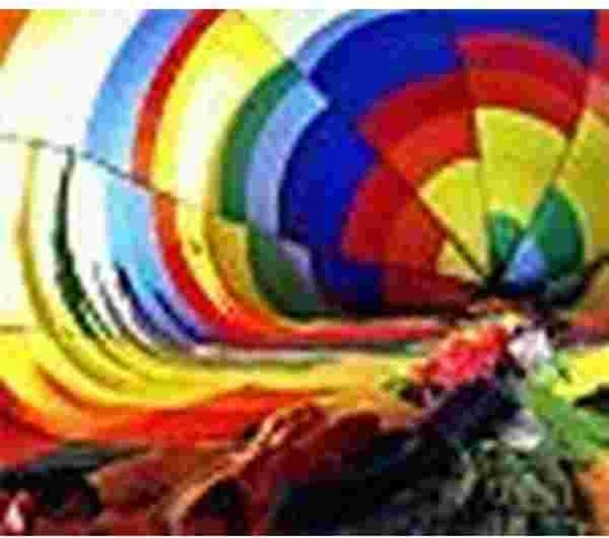 Heteluchtballon binnenin  Muismat