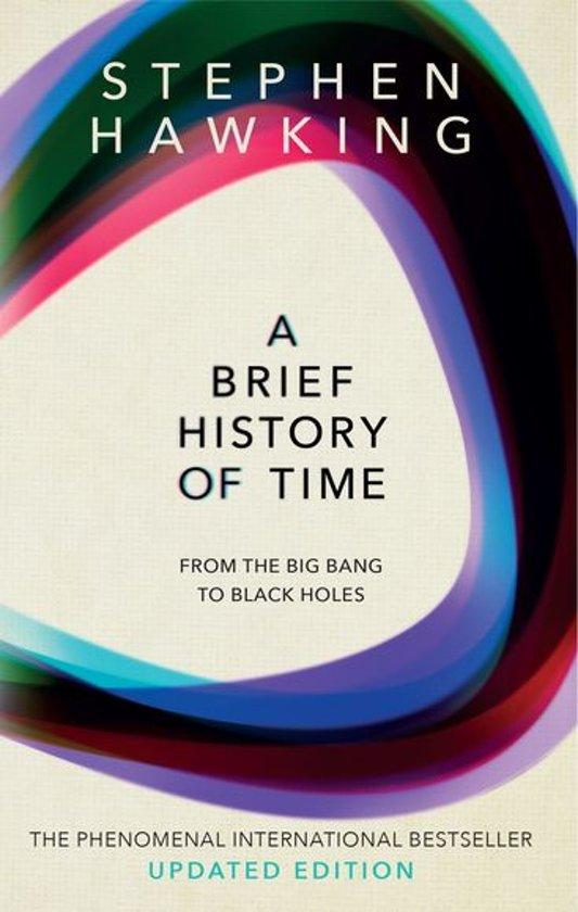 Boek cover A Brief History Of Time van Stephen Hawking (Onbekend)