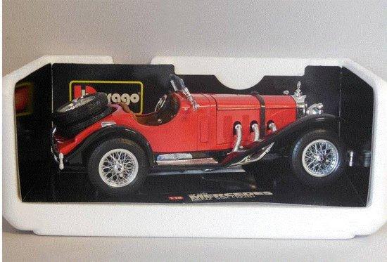Bol Com Mercedes Benz Ssk 1928 1 18 Bburago 3009 Beige Bruin
