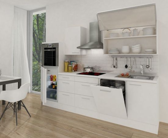 Bol meister premium complete keuken met luxe hangkast