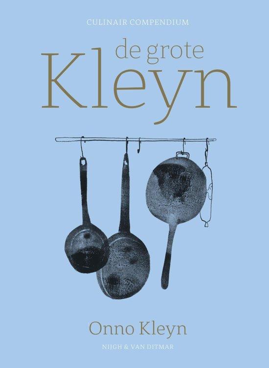 Boek cover De grote Kleyn van Onno H. Kleyn (Onbekend)