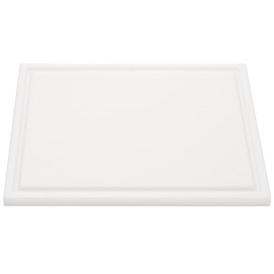 Interlux Snijplaat met sapgoot - 325x265x15mm - Wit