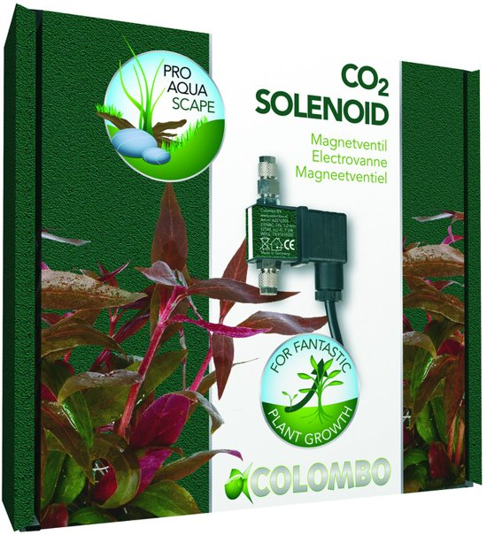 Colombo Co2 Advance Magneetventiel per stuk