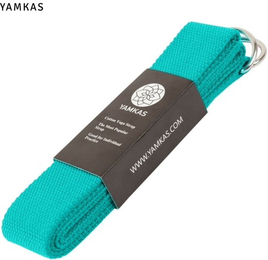 Yoga Riem 100% Katoen | 183cm | Turquoise