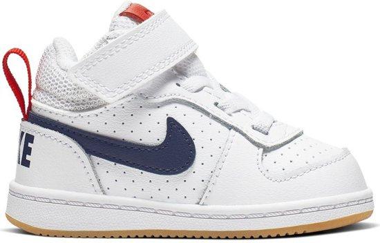 winkel beste prijzen goed bol.com | Nike Court Borough Mid Sneakers - Maat 28 - Unisex ...