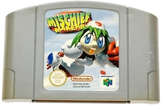 Mischief Makers - Nintendo 64 [N64] Game PAL