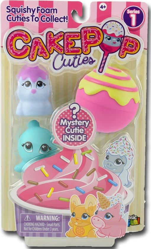 Afbeelding van Cake Pop Cuties Squishy Foam - Multipack 1 speelgoed