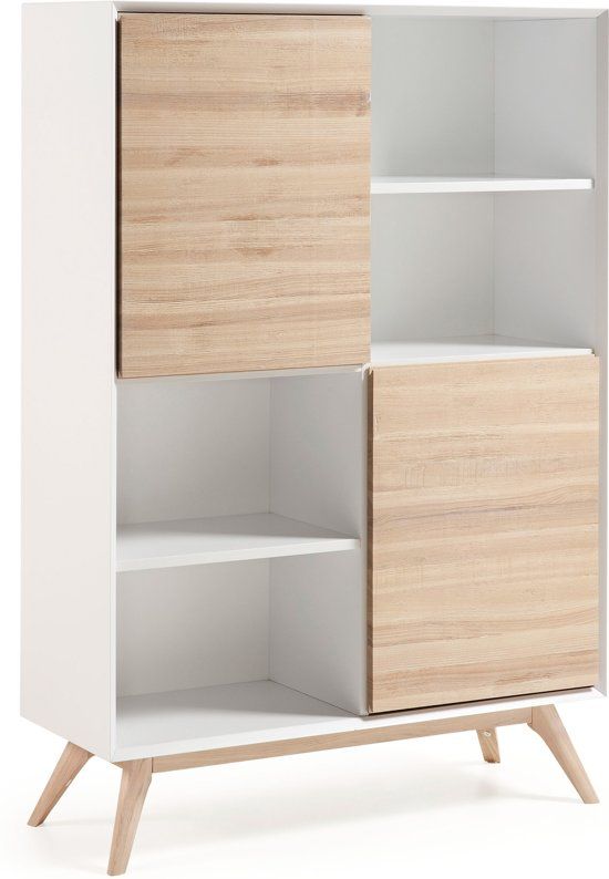 bol.com | LaForma Open Boekenkast Quatre - L152 x B40 x H104 cm - 2 ...