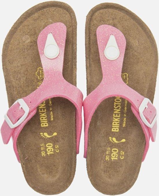 Birkenstock Gizeh - Slippers - Kinderen - Roze - Maat 36