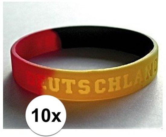 10x Polsbandje Duitsland