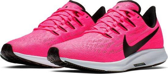 Nike Air Zoom Pegasus 36 Sportschoenen Dames - Hyper Pink/Black-Half Blue