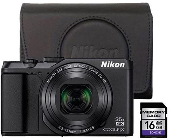 Nikon Coolpix A900 - Zwart starterkit