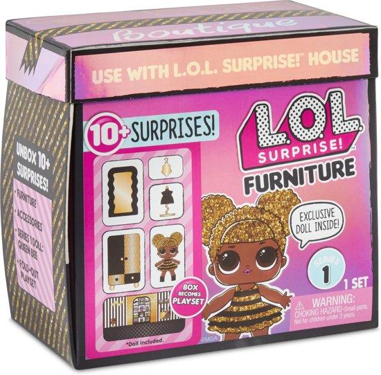 L.O.L. Surprise Furniture - Kledingkast met Queen Bee Minipop