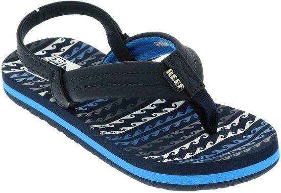23b081af72c bol.com | Reef Little Ahi Jongens Slippers - Water Blue - Maat 23/24