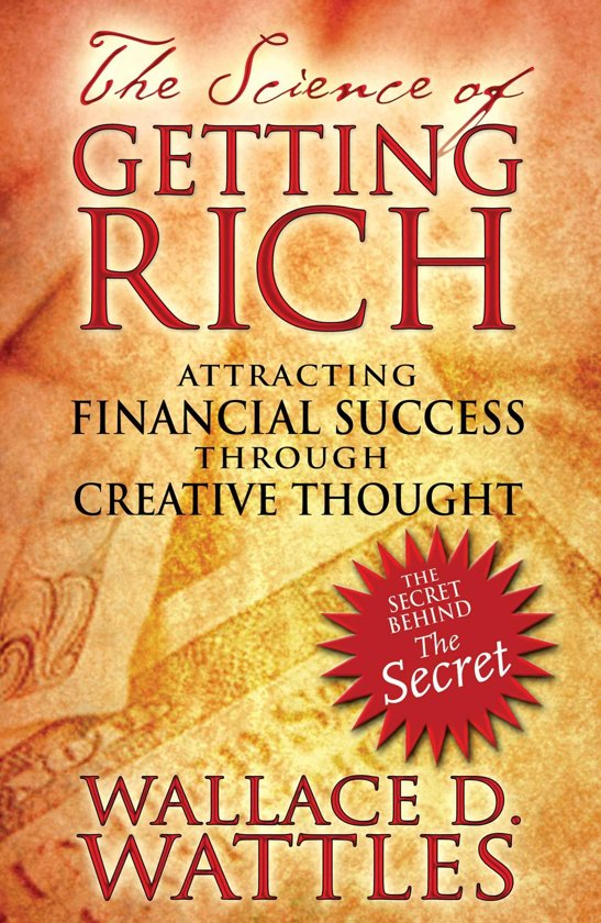 Boek cover The Science of Getting Rich van Wallace D. Wattles (Onbekend)