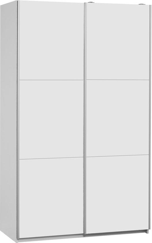 Kledingkast 120 Cm.Bol Com True Furniture Bergen 120 Kledingkast Wit