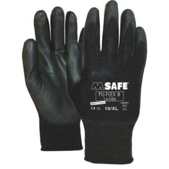 M-Safe veiligheidshandschoen Pu-Flex 1 paar maat 7/S