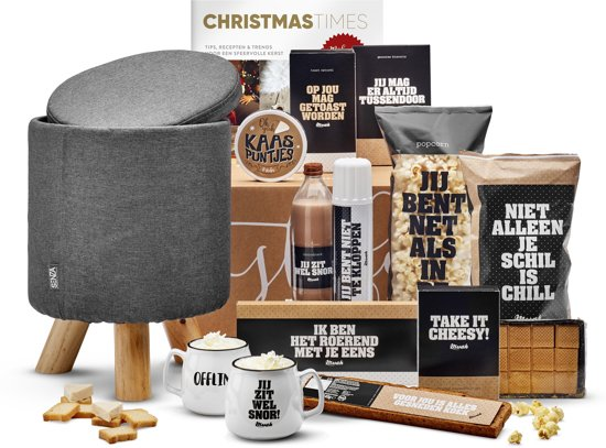 Kerstpakket Take a seat