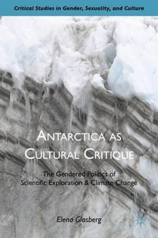 Antarctica as Cultural Critique