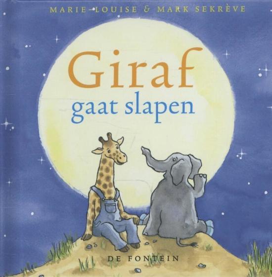 Giraf kleine editie 1 Giraf gaat slapen