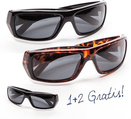 a13524442a1 Polaryte HD zonnebril (set van 3 + luxe brillenkoker)