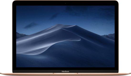 """Apple MacBook 12"""" (2018) MRQN2N/A Goud"""