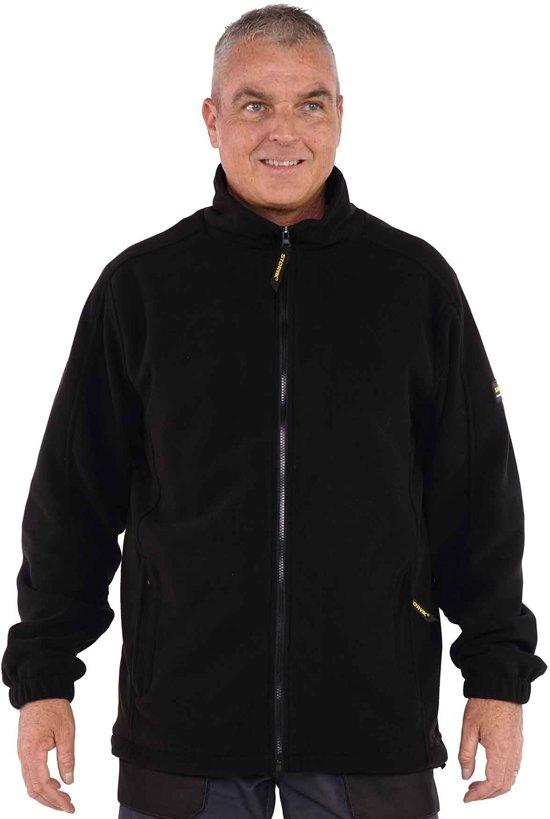 gedetailleerde look exclusief assortiment nieuwe aankomst Storvik fleece vest Ramon-Black-L