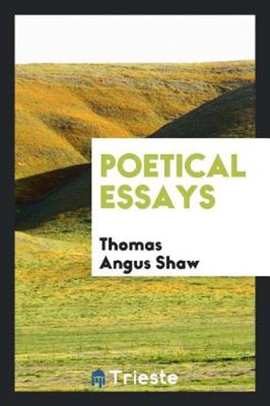 Poetical Essays