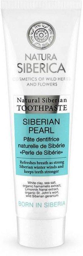 Natura Siberica Natural Siberian toothpaste Siberian pearl, 100gr