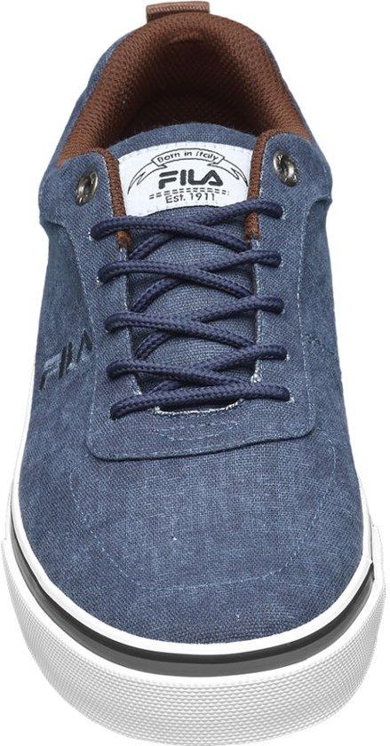 Maat 40 Sneaker Blauwe Canvas Heren Fila XI7qZZ
