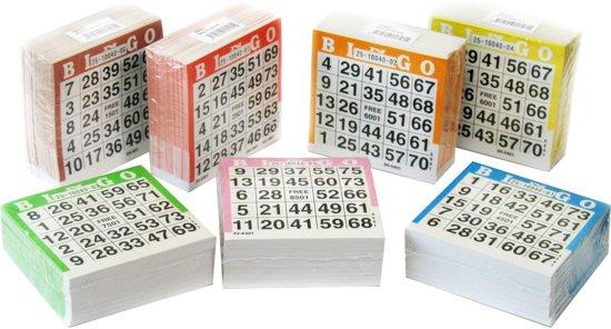 Afbeelding van het spel Longfield Games Bingokaarten 500 Stuks