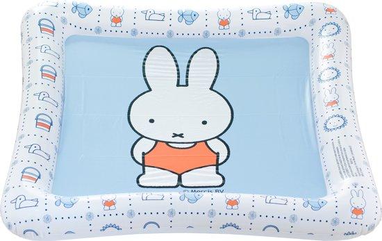 Handdoek Met Opblaasrand.Nijntje Opblaasbaar Speelkleed