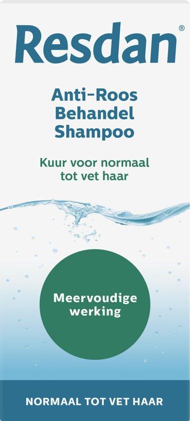 Resdan Normaal / Vet Haar - 125 ml - Shampoo