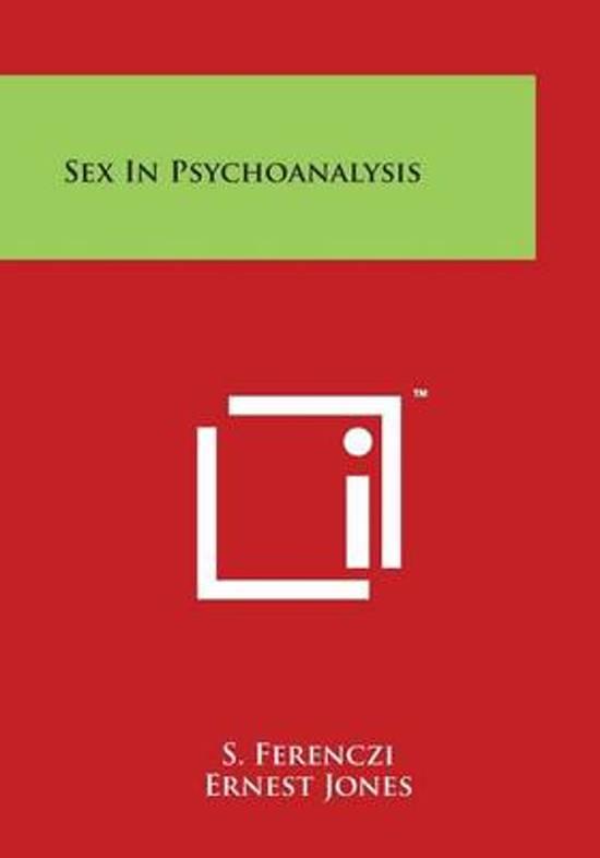 Sex in Psychoanalysis