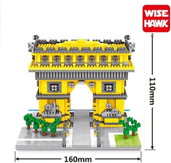 Nanoblocks Arc de Triomphe - Wise hawk