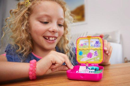 Polly Pocket Hidden Hideouts Lila's Droomkasteel - Speelfigurenset
