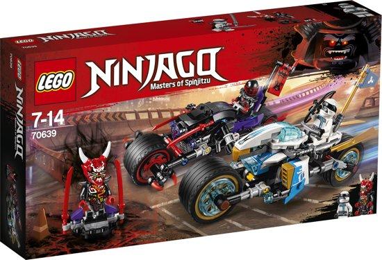 LEGO NINJAGO Straatrace van de Slangenjaguar - 70639