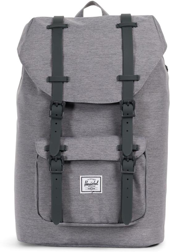 Grey Rugzak Co Volume Crosshatch Little America Supply Herschel Mid YF10wTq1