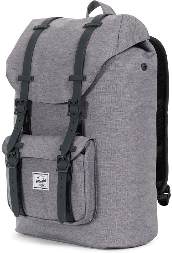 Rugzak Supply Little Crosshatch Herschel Co Grey Volume Mid America YqnTdZ
