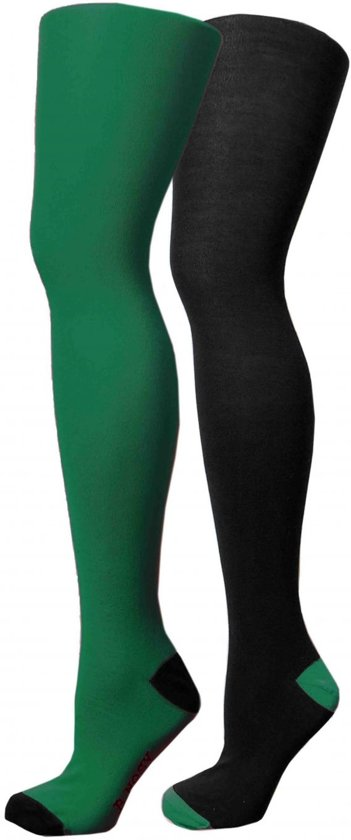 B-Nosy Meisjes leggings & maillots B-Nosy Girls maillot left and right side di groen 98/104