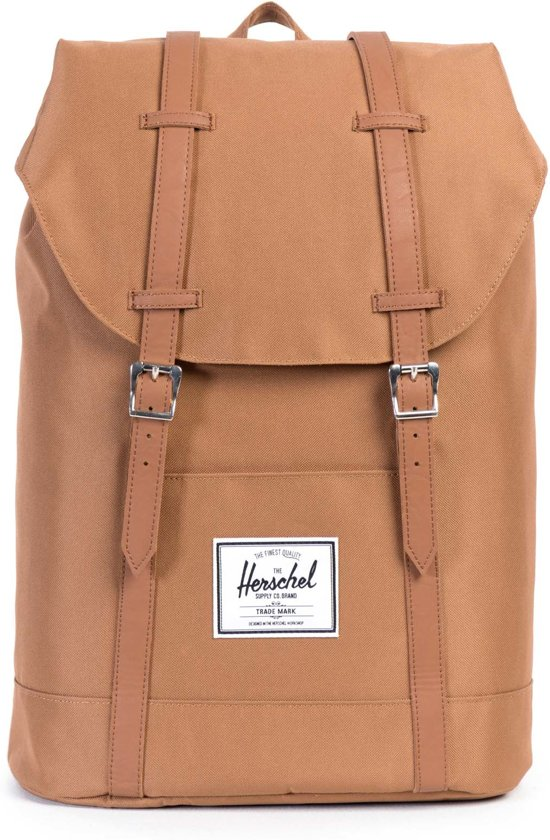 faa59ccb040 Herschel Supply Co. Retreat - Rugzak - Caramel / Tan Synthetic Leather