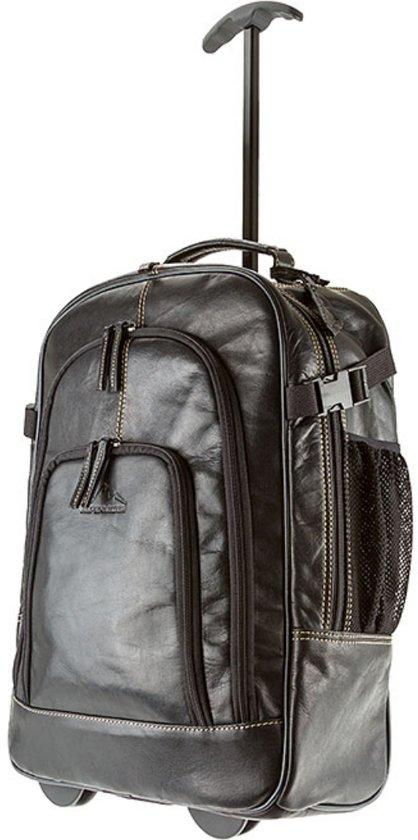 e8e220a9d39 bol.com | Alpenleder Back Pack Trolley Bag Achensee Black