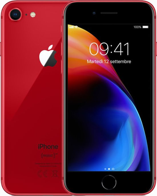 Apple iPhone 8 - 64GB - Red Special Edition