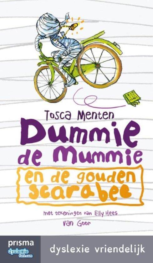 Boek cover Dummie de Mummie 1 - Dummie de mummie en de gouden scarabee van Tosca Menten (Onbekend)