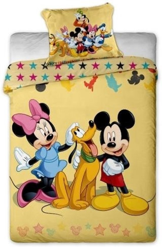 bol com   Disney Dekbed Dekbedovertrek mickey mouse en friends 140 x 200 cm