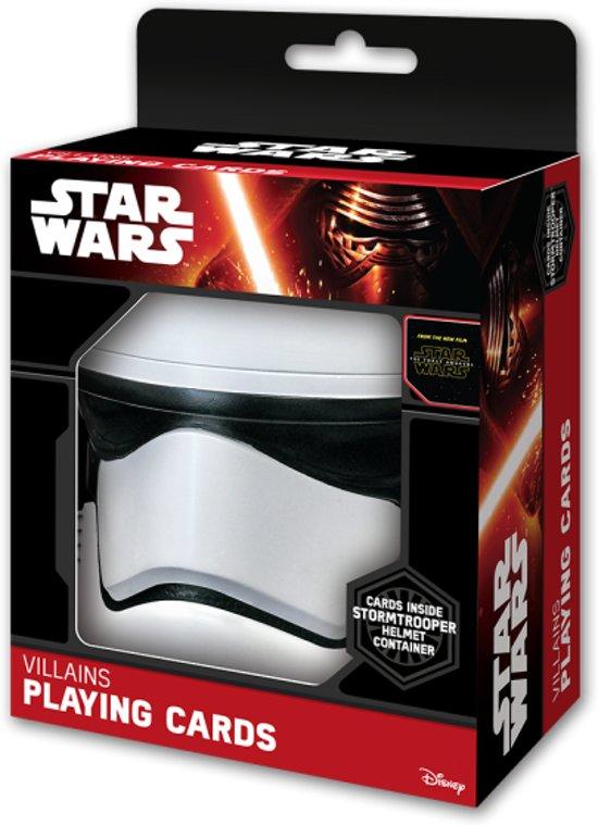 Afbeelding van het spel Star Wars - Speelkaarten - The Force Awakens - Stormtrooper Helmet