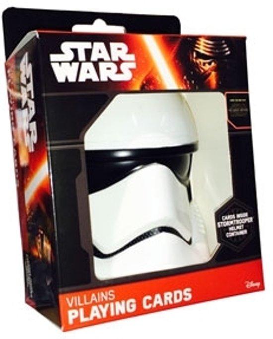 Thumbnail van een extra afbeelding van het spel Star Wars - Speelkaarten - The Force Awakens - Stormtrooper Helmet